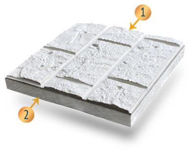 Структура плиты